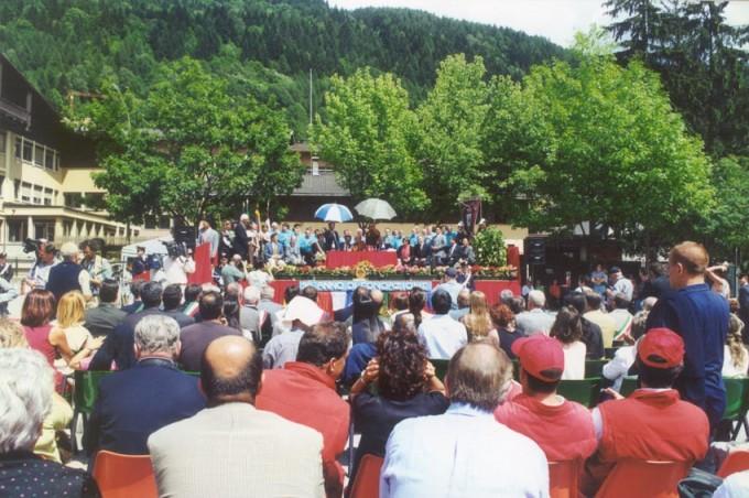 Cerimonia 2001 Dalai Lama