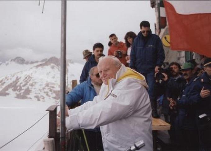 Giovanni Paolo II in Adamello