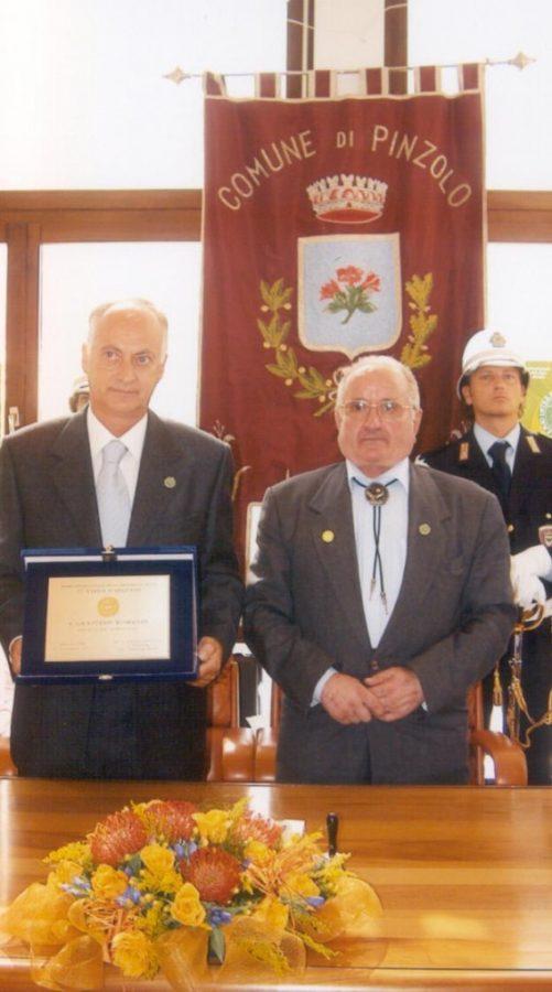 Premiazione Graziano Romanin