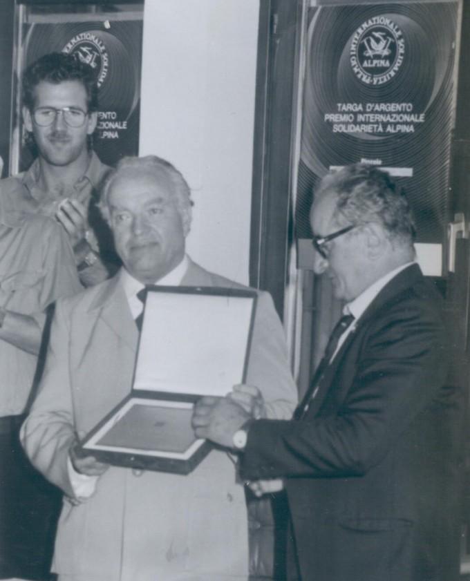 Premiazione Pietro Bassi