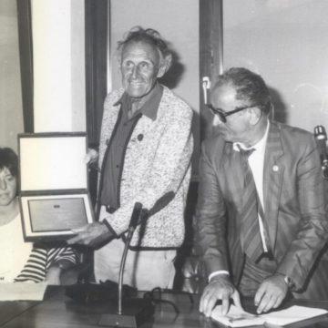 Rudi Steinlechner premiato