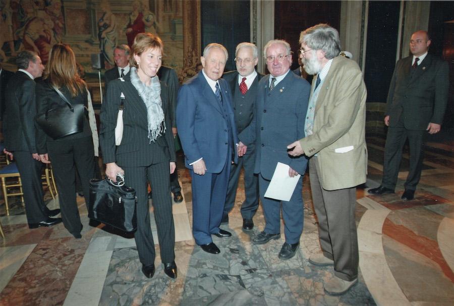 Incontro con il presidente Ciampi